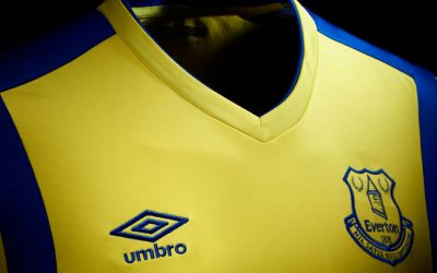 The new Everton 2016/17 third kit by Umbro