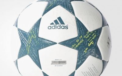 Adidas > the Official Match Ball for the 2016/17 UEFA Champions League