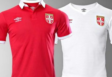 Umbro Serbia 2016-2017 Home and Away kit
