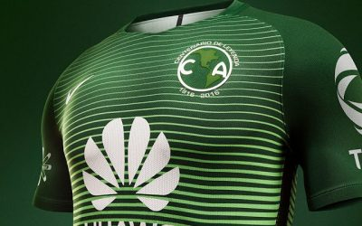 Futbol Club America (MX) third kit Nike 2017 – VERDE